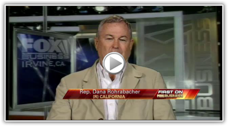 Rep. Dana Rohrabacher on Efforts to Stop Aid to Pakistan